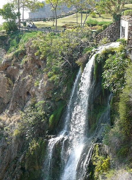 Waterfall Cascade Aquatic Cliffs Precipices Water