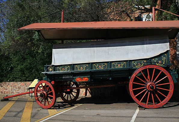 Ox Wagon Traffic Carriage Transportation Ox Steer
