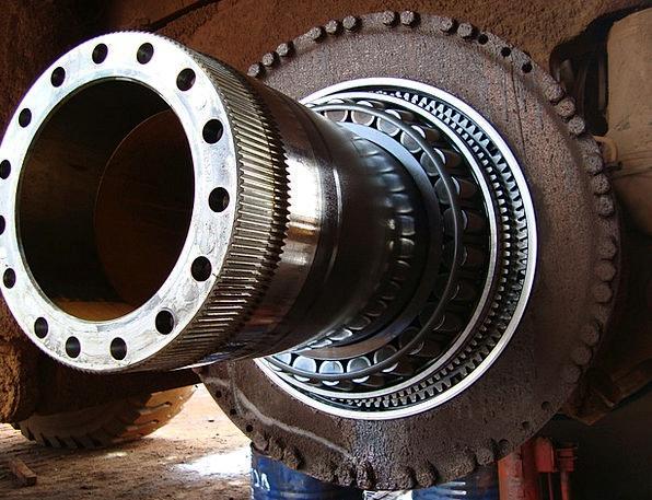 Heavy Machinery Traffic Gear Transportation Engine