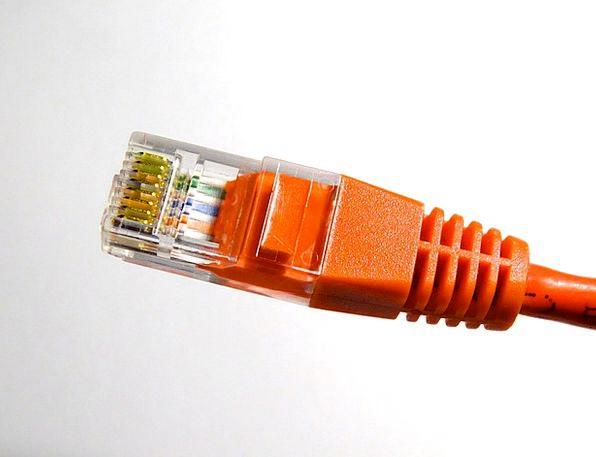 Lan Connector Communication Joining Computer Lan C