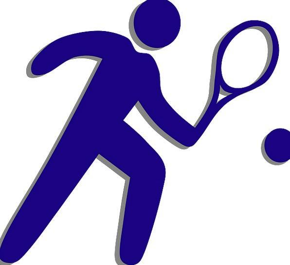 Tennis Sporting Tennis Racket Sports Man Gentleman