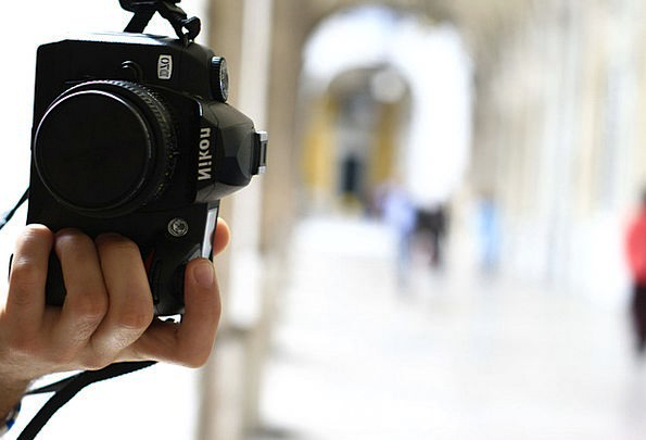 Nikon Photography Taking pictures Camera Hand Poin