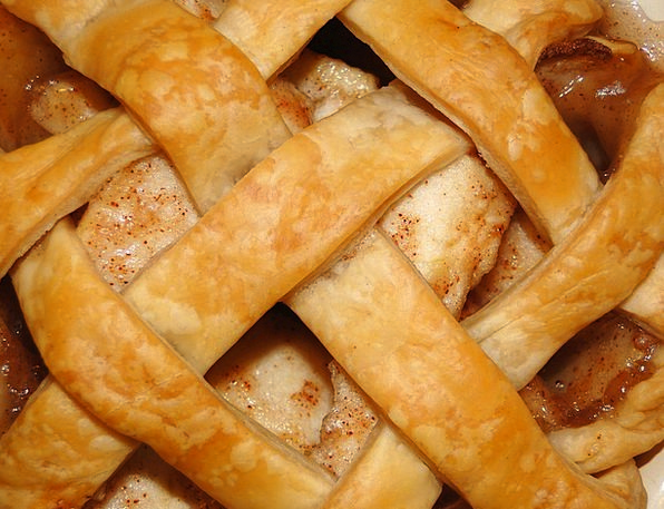 Pie Tart Drink Coating Food Lattice Frame Crust Pi