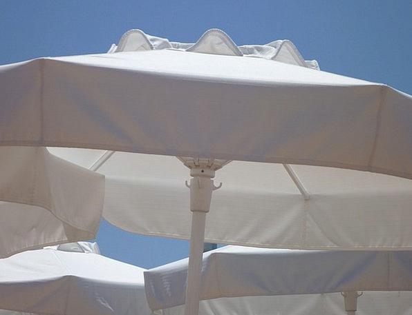 Parasols Sunshades Snowy Shade Tree White Shadow G