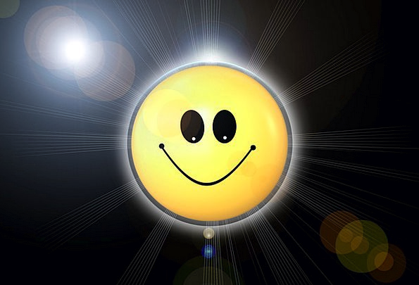 Smiley Smiling Creamy Happy Content Yellow Cute At