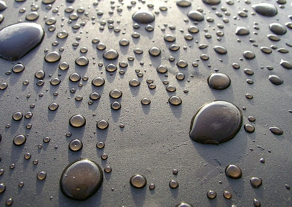 Drops Droplets Beeswax Steel Strengthen Wax Gray L
