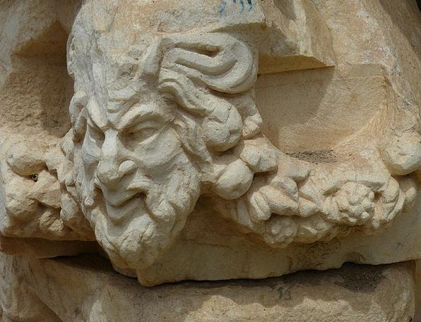 Aphrodisias Skull Face Expression Head Image Turke