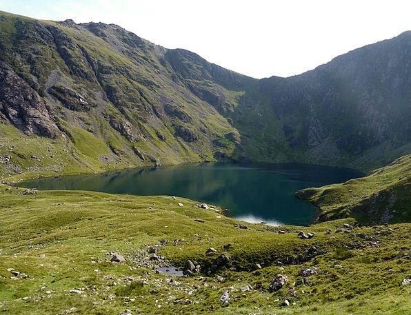 Cadar Idris Landscapes Crag Nature Snowdonia Mount