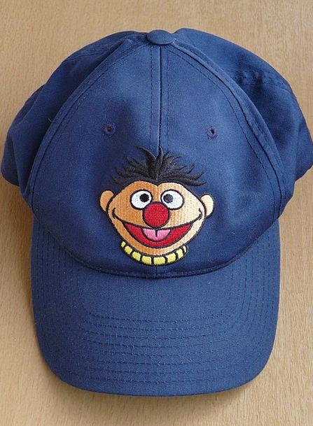 Plate Cap Lid Ernie Cap Eyes Sesame Street Color C