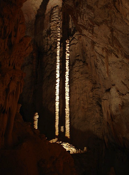 Stalactite Icicle Aven D'Orgnac Speleothems Cave C