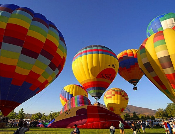 Ballons Air Sports Hot Air Balloon Fly Hover Start