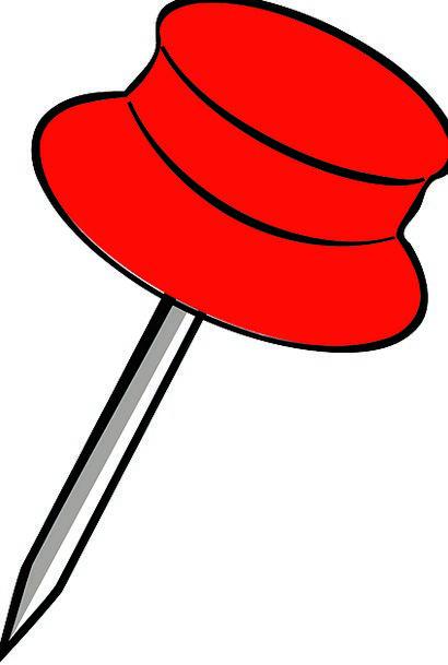 Pin Jot Pushpin Red Pin Thumbtack Office Supplies