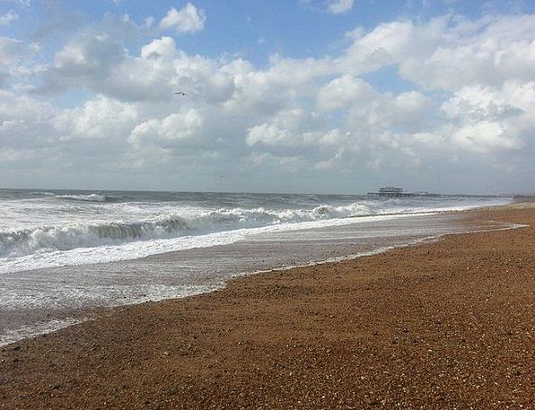 Wave Upsurge Vacation Marine Travel Coast Sea Sunl