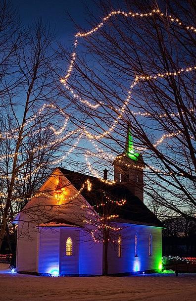 Christmas Ecclesiastical Night Nightly Church Holi