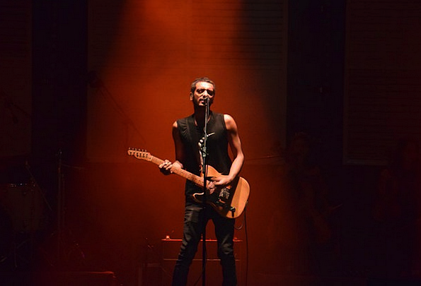 Guitar Vocalist Concert Performance Singer Show Ro