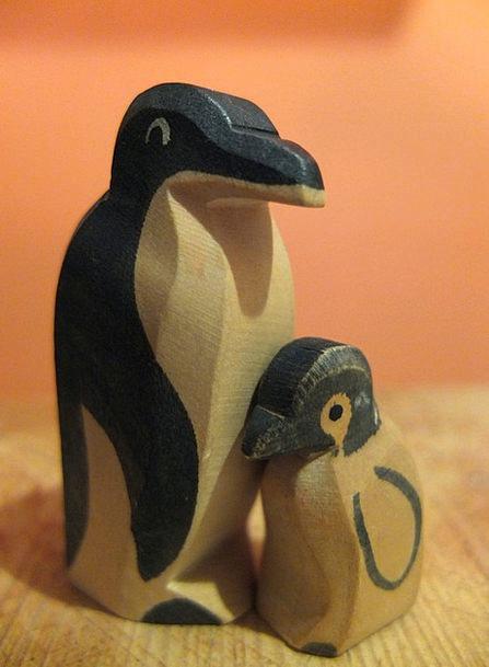 Penguin Parental Mother Ma Parent Toys Father Dad