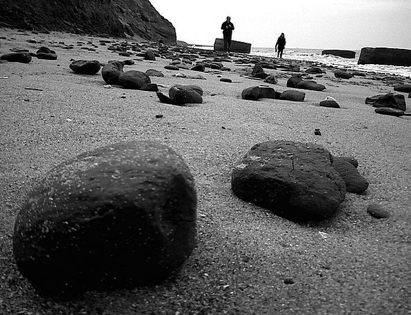 Pebble Vacation Travel Beach Stone People Public S