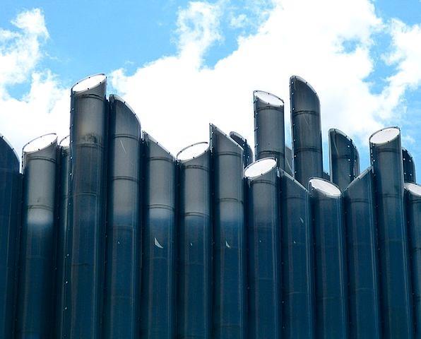 France Buildings Architecture Poitier Futuroscope