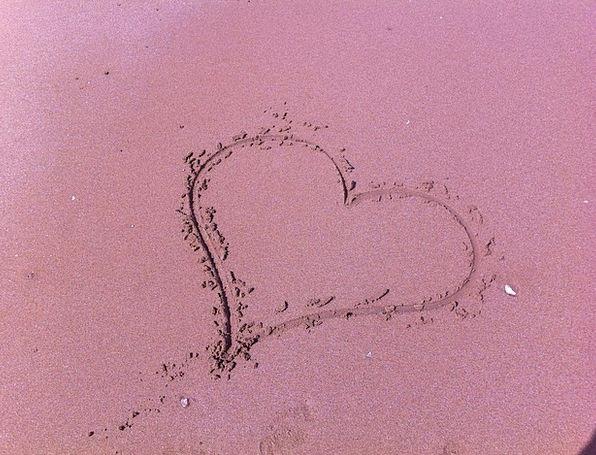 Heart Emotion Vacation Shingle Travel Beach Seasho