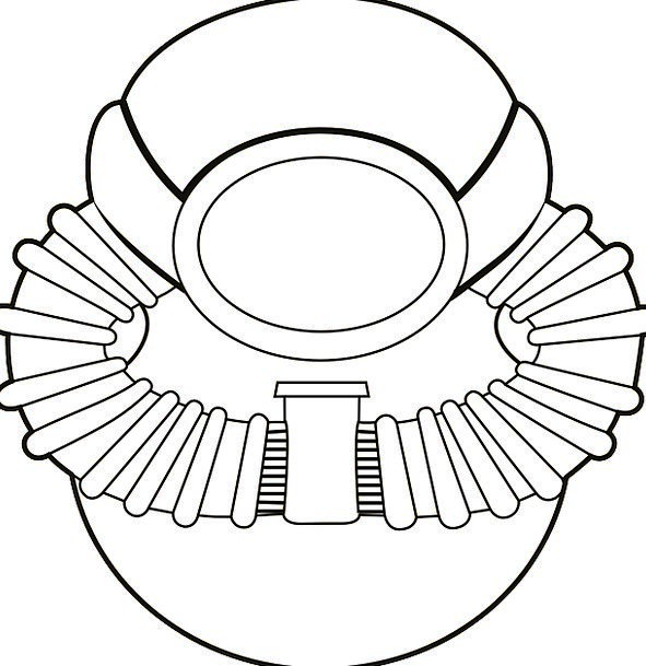 Scuba Craft Work-related Industry Badge Insignia O