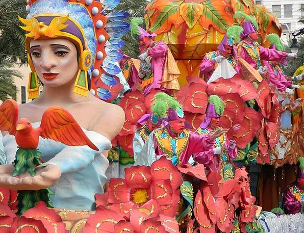 Mardi Lawn Mardi Gras festival Grass New Orleans L