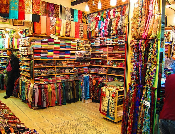 Market Marketplace Colors Insignia Gran Bazar Ista