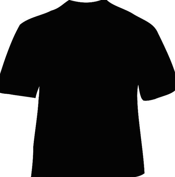 T-Shirt Dark Clothing Sartorial Black Fabric Shirt