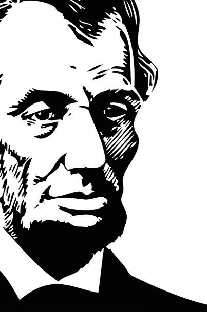 Abraham President Leader Lincoln Patriotic Republi