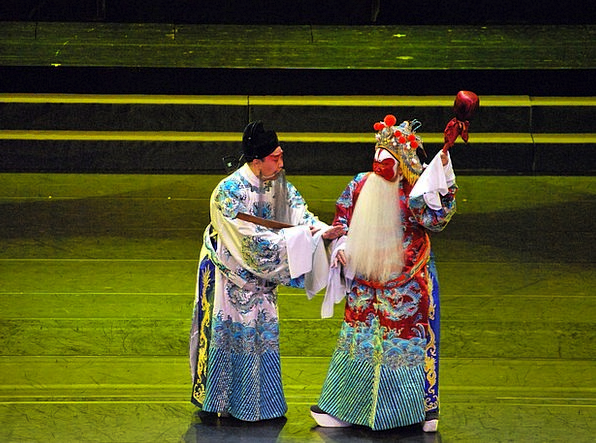 Opera Masque Play Production Chinese Stage Phase A