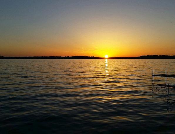 Sunset Sundown Vacation Freshwater Travel Sun Lake
