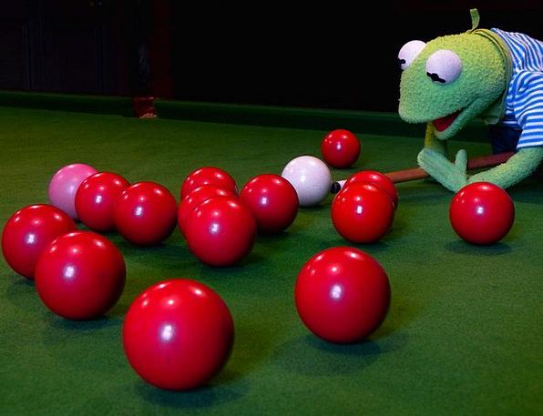 Kermit Billiards Frog About Balls Spheres Pool Tab