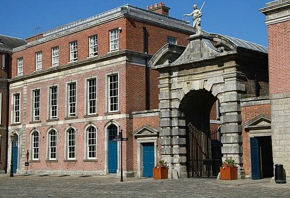 Castle Fortress Monuments Entry Places Dublin Gate