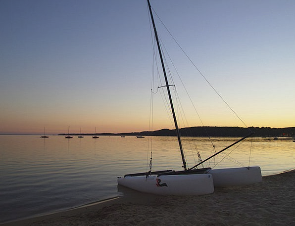 Sunset Sundown Vacation Travel Sailing Marine Fran