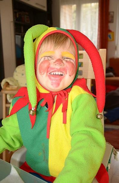 Carnival Festival Lad Costume Clothing Boy Happy H