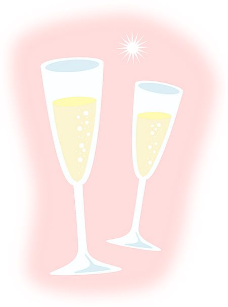 Champagne Bubbly Drink Cut-glass Food Liquor Glass