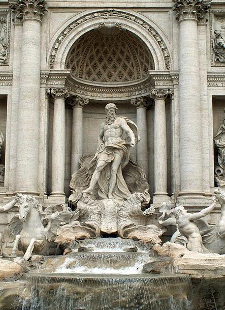 Trevi Monuments Cascade Places Fontana Di Trevi Fo