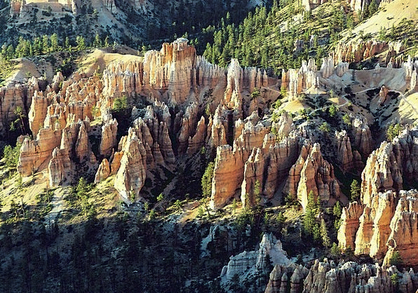 Bryce Canyon Sandstone Stonework Rock Formations D