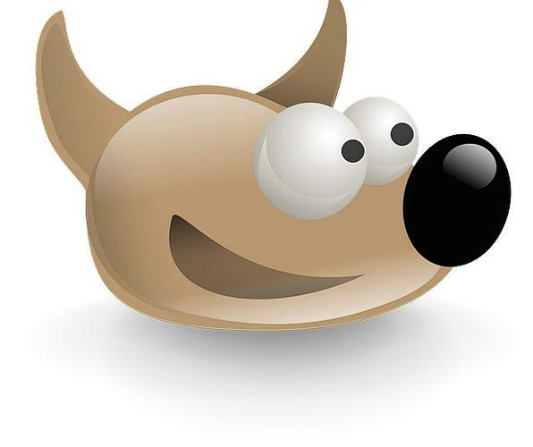 Gimp Symbol Dog Canine Logo Image Editing Sout Hea