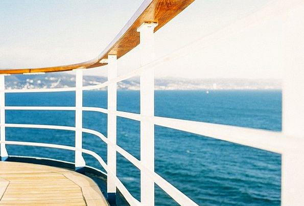 Railing Fence Vacation Handrail Travel Ship Vessel