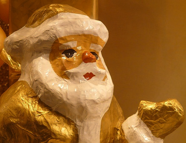 Santa Claus Man Gentleman Christmas Bart Fig