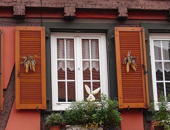 Window Gap Corn Goo Alsace