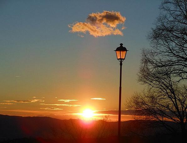 Lamppost Streetlight Vacation Sundown Travel Lands