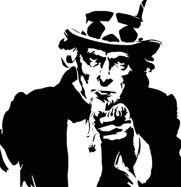 Uncle Sam Administration Symbol Sign Government Usa America