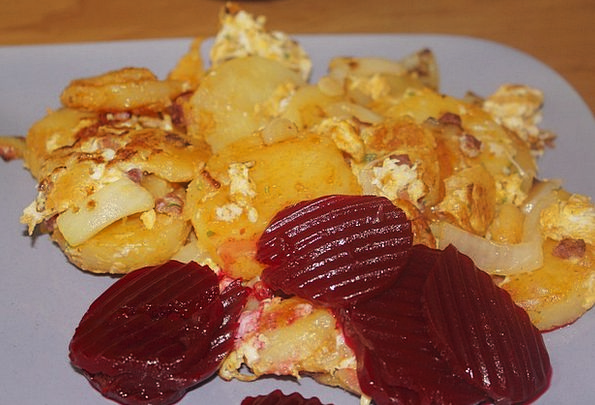 Fried Potatoes Drink Food Eat Bother Beetroot Subs