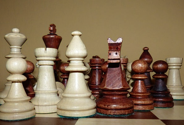 Chess Chess Game Chess Pieces Springer Chess Board