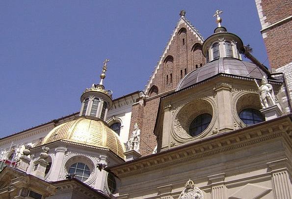Kraków The Renaissance Sigismund'S Chapel Poland