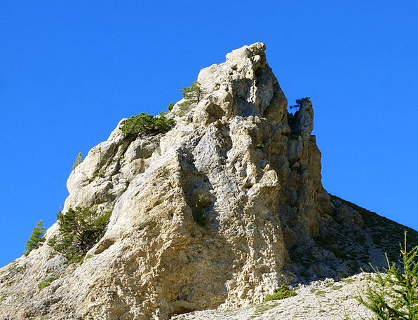 Mountain Crag Landscapes Sceneries Nature Sky Land
