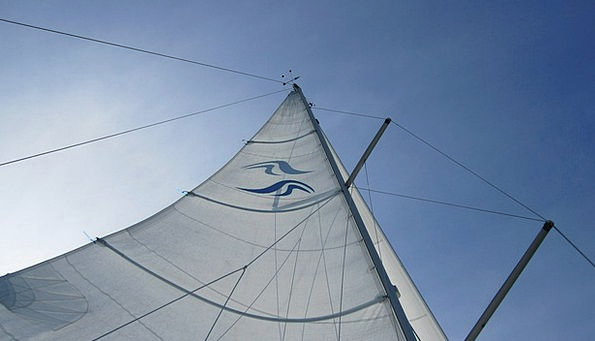 Sail Navigate Holiday Break Sky Blue Azure Rigging