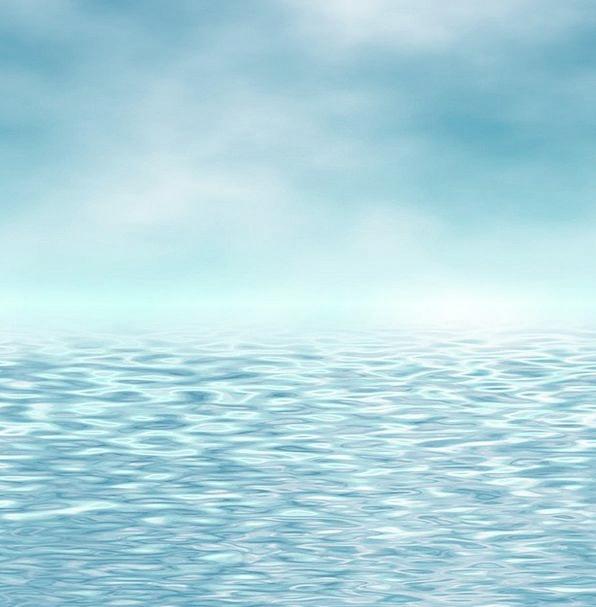 Water Aquatic Upsurge Azur Wave Wavy Curly Sky Ref