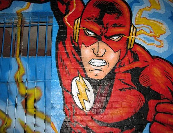 Action Hero Drawings Berlin Graffiti